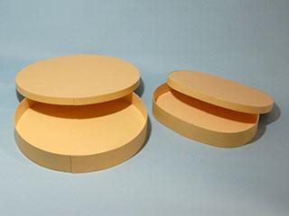曲げわっぱ:紙製品-ステッチャーなし-ホットメルト