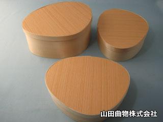 【新製品】駅弁に最適! ユニークな貝殻形の特製弁当箱