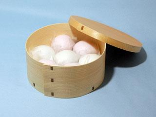 曲げわっぱ:木製品(ステッチャー有り)